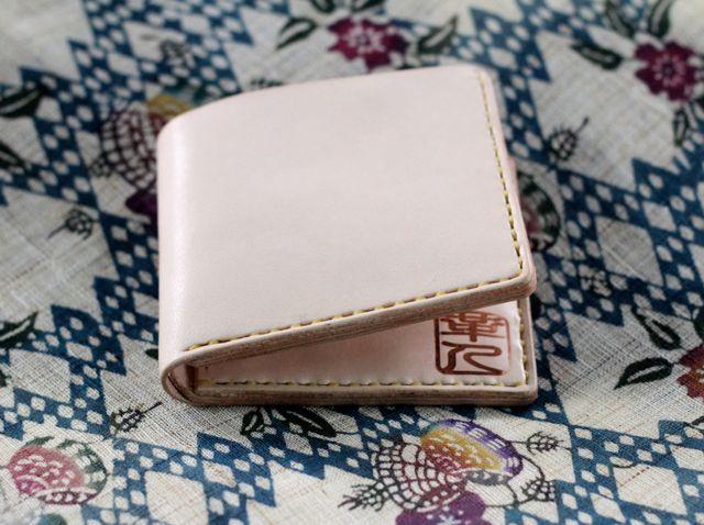 画像2: 二つ折り財布(小銭入れ無し)