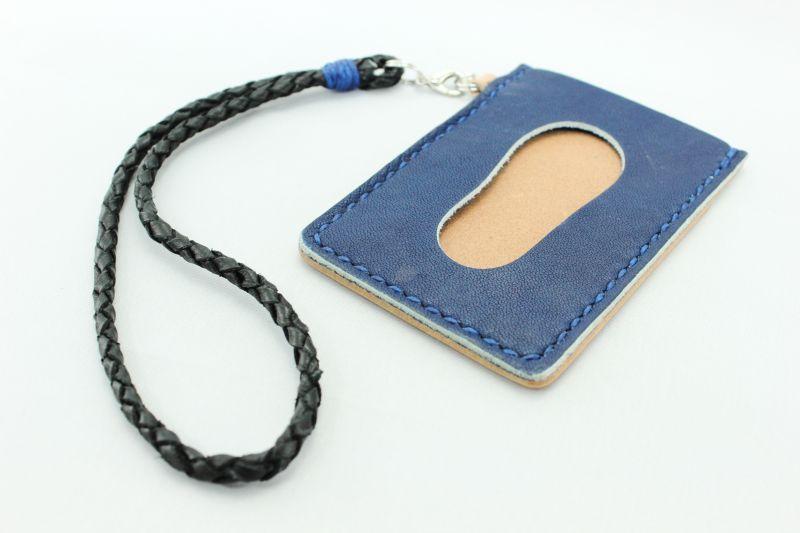 画像1: 琉球藍染ICパスケース